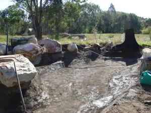 Pond Hole Dug and Prepared